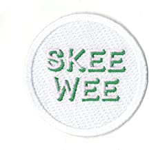 Alpha Kappa Alpha Skee Wee College Sorority Logo Embroidered Iron On Patch