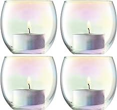 LSA International Pearl Votive Holder H2.5in/Ø2.75in x 4 Candleholders