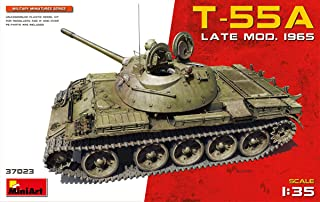MiniArt 37023 T-55A Late Mod 1965, Military Miniature Series 1/35 Scale Plastic Model Kit