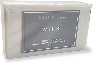 k. hall designs Milled Shea Soap - Milk