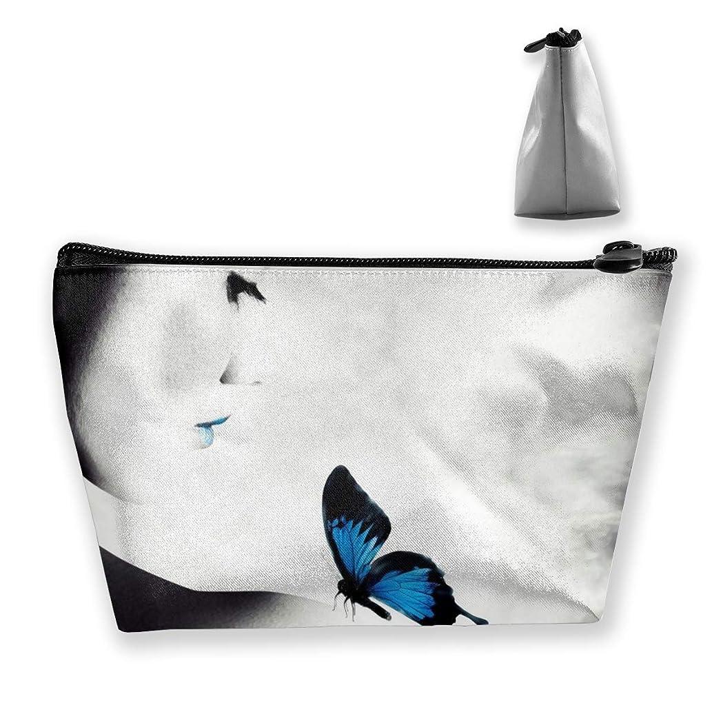 バタフライ ペンケース文房具バッグ大容量ペンケース化粧品袋収納袋男の子と女の子多機能浴室シャワーバッグ旅行ポータブルストレージバッグ