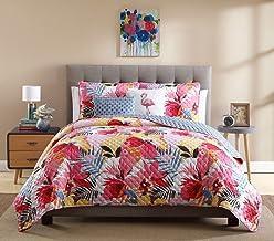 Ellison Lanai Quilt Set, Pink