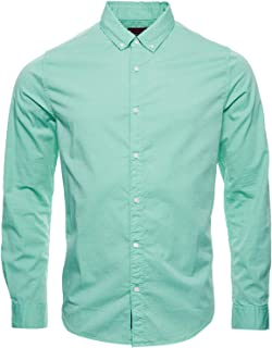 Superdry Classic Twill Lite L/S Shirt Camisa para Hombre
