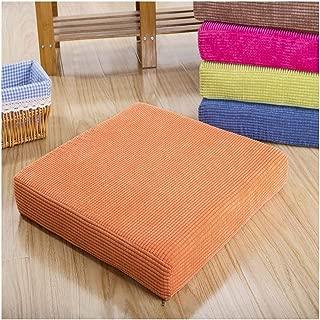 Bigfan Modern Style Seat Mat Comfortable Sitting Pillow Buttocks Chair Cushion Home Office Decoration Cushions Soft Chair Cushion,Qq-Ju Se,45X45Cm 1Piece