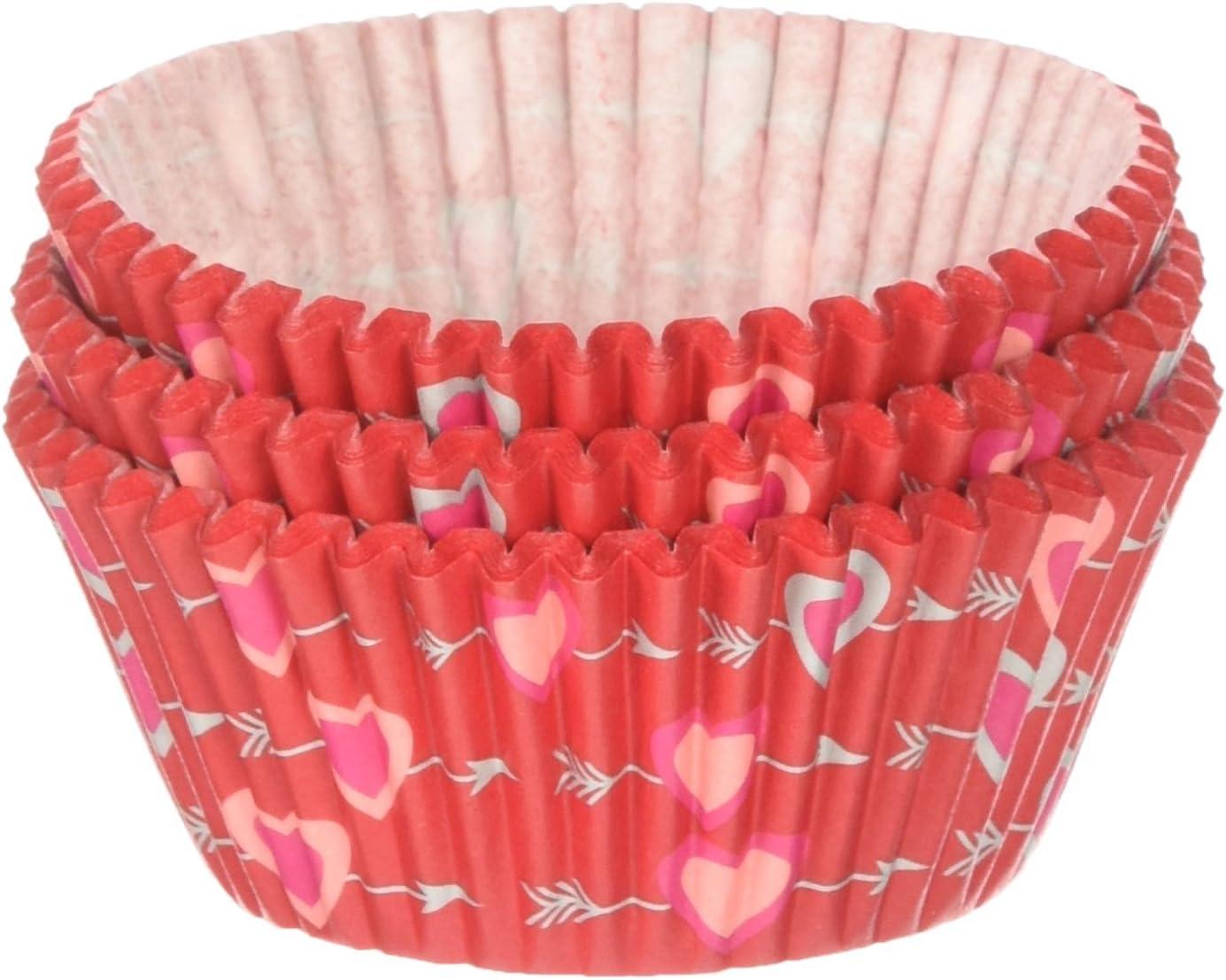 Wilton Heartfelt Award Valentine Excellent Baking Cups