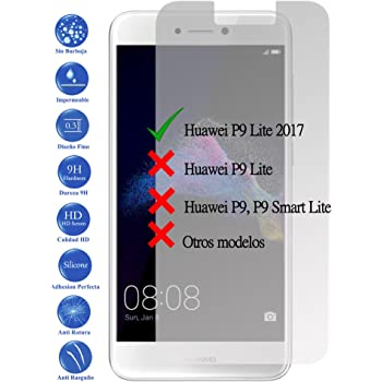 Todotumovil Protector de Pantalla Huawei P9 Lite 2017 de Cristal ...