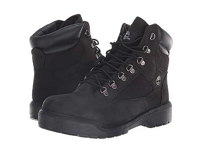 Timberland Field Boot 6 F/L Waterproof (Black Waterbuck Nubuck) Men