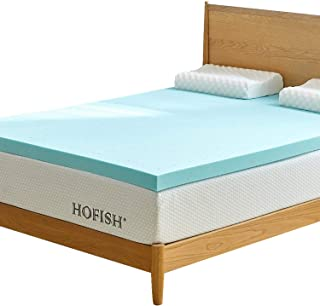 HOFISH 3Inches 3 Inches Gel Infused Memory Foam Mattress Topper-Queen, 2018-3Inches