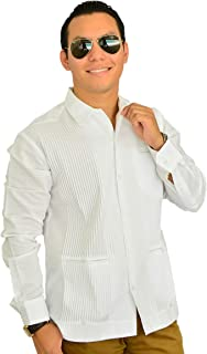 Camisa Guayabera Yucateca Casual Hombre Lino Presidencial Original_cfkkprsml11