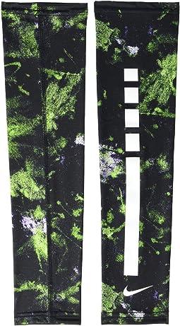 Black/Electric Green/White