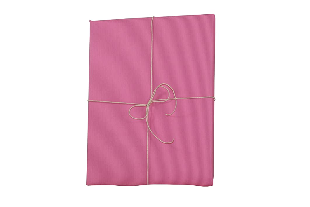 Premium Kraft Gift Wrap Paper Roll - Solid Matte - 50 Sq Ft (Lipstick)
