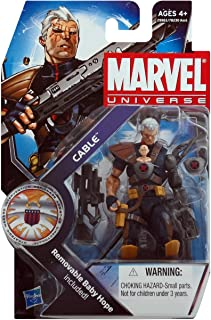 Marvel Universe 3 3/4 Inch Series 13 Action Figure Cable with Hope