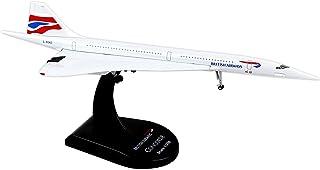 Daron Worldwide Trading Postage Stamp British Airways Concorde Vehicle (1/350 Scale)