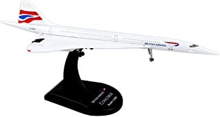 Daron Worldwide Trading Postage Stamp British Airways Concorde Vehicle (1/350 Scale)