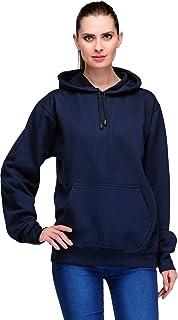 Scott International Women's Cotton Blend Hooded Hoodie