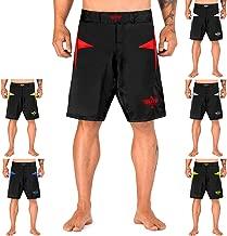Elite Sports Star Series Fight Shorts - UFC, MMA, BJJ, Muay Thai, WOD, No-GI, Kickboxing, Boxing Shorts