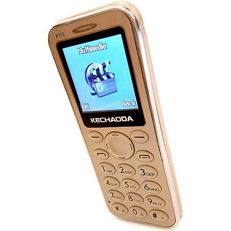 "KECHAODA K115 with Dual Sim 1.44"" inch (Gold)"