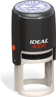 Round Notary Stamp for State of Tennessee   Self Inking Unit - Trodat Manufactured Ideal 400r with Advanced Durability