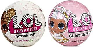 L.O.L Surprise Glitter Bundle and L.O.L Surprise Glam Glitter Series Doll (2-Pack)
