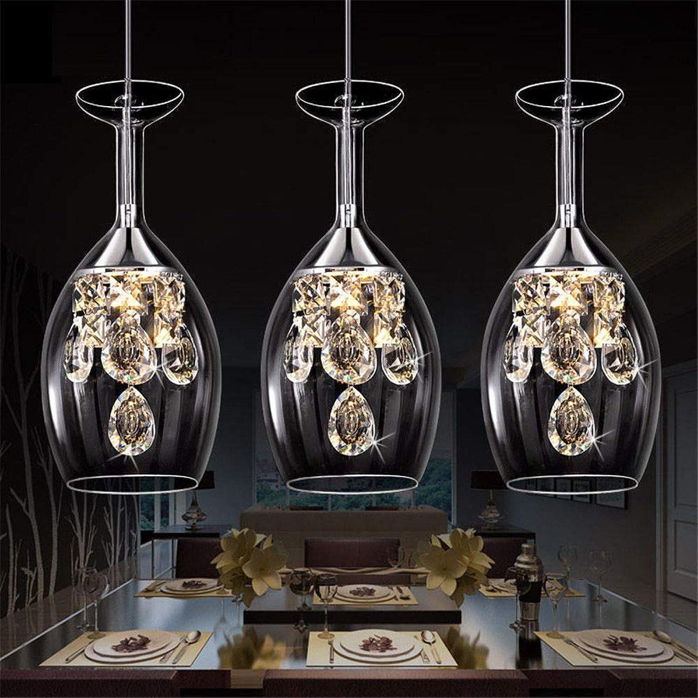Design Moderne Minimaliste Magnifique Vintage Bouteille De Vin LED Pendentif LumièRes 110V 220V 1-6 LumièRes Pendentif Acrylique Nuances