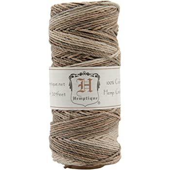 Hemptique hs20va Earthy Cord Spool 20-Pound, Earthy