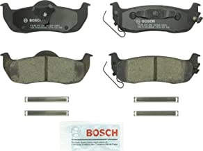 Bosch BC1041 QuietCast Premium Ceramic Disc Brake Pad Set For: Infiniti QX56; Jeep Commander, Grand Cherokee; Nissan Armada, Titan, Rear