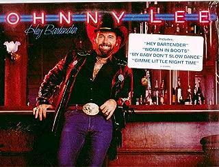 Johnny Lee ~ Hey Bartender (Original 1983 Warner Brothers 23889 LP Vinyl Album NEW Factory Sealed in the Original Shrinkwrap with HYPE Sticker ~ Features 10 Tracks ~ See Seller's Description For Track Listing)
