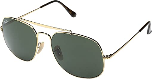 Shiny Gold Frame/Classic Green Lens
