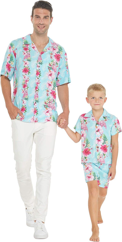 Matching Father Son 55% OFF Hawaiian Luau Boy discount Men Outfit Shirt Sho