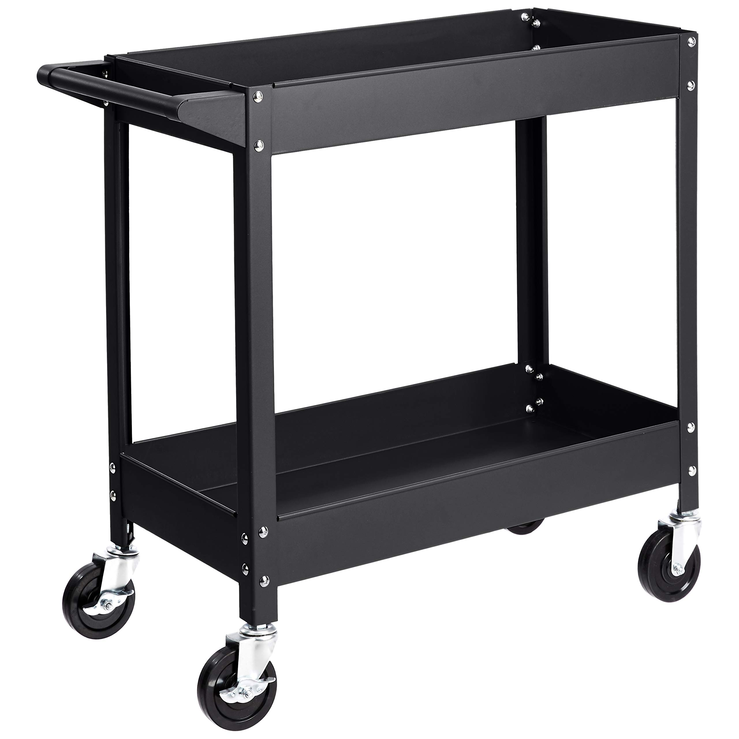 AmazonBasics 2 Shelf Multipurpose Utility capacity