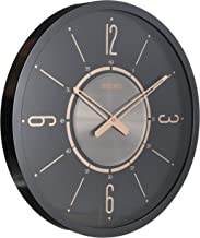 Seiko Modern Wall Clock Black iron Colour QXA759KLS