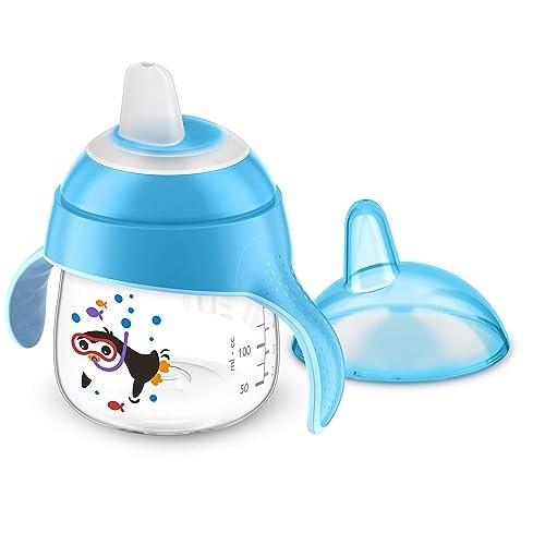 Philips Avent Premium Soft Spout Cup 200ml - Blue (Single Pack)