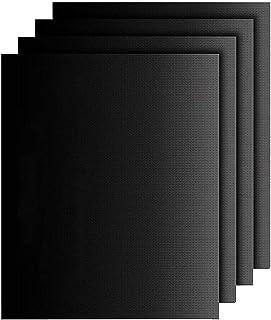 IREGRO Tapis de Cuisson, Set de 4 (50cm * 40cm) Tapis de Cuisson en Papier sulfurisé, 100% antiadhésif et réutilisables po...
