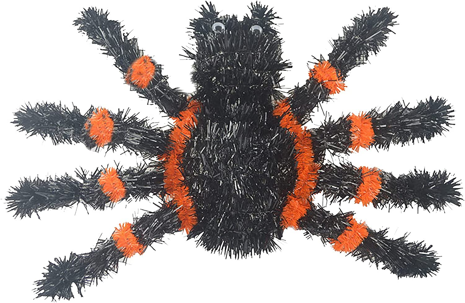 Max 80% OFF Juesi Halloween Tinsel Garland Plastic Decoration NEW before selling Tinsel-Like Sp