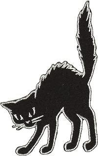 C&D Visionary P-DSX-4671 DSX Black Cat Silver Border Patch, Multi Color
