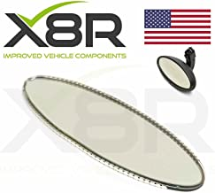 X8R Replacement For Oval Rear View Mirror Auto Dim Dimming Repair Glass Cell Applicable To BMW E46 M3 E39 M5 Part # X8R0073