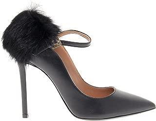 POLLINI Luxury Fashion Womens 1042BLACK Black Pumps | Season Outlet