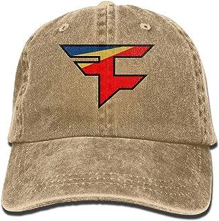 1ba534cd21d99 Faze Clan Team Logo Adult Hats Unisex Fashion Plain Cool Adjustable Denim  Jeans Baseball Cap Cowboy