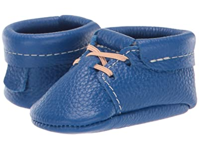Freshly Picked Soft Sole Oxfords USA (Infant/Toddler) (Cobalt Blue) Kid