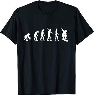 Skateboard Evolution T-Shirt - Skateboarding Gift Shirt
