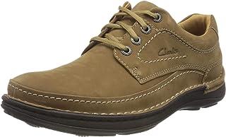 Clarks Nature Three, Zapatos de Cordones Derby Hombre