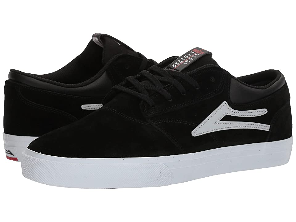 Lakai Griffin (Black/Reflective Suede) Men