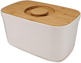 Joseph Joseph pojemnik na chleb z pokrywką do krojenia - biały, jeden rozmiar