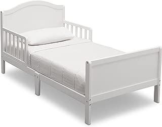Delta Children Bennett Toddler Bed, Bianca White