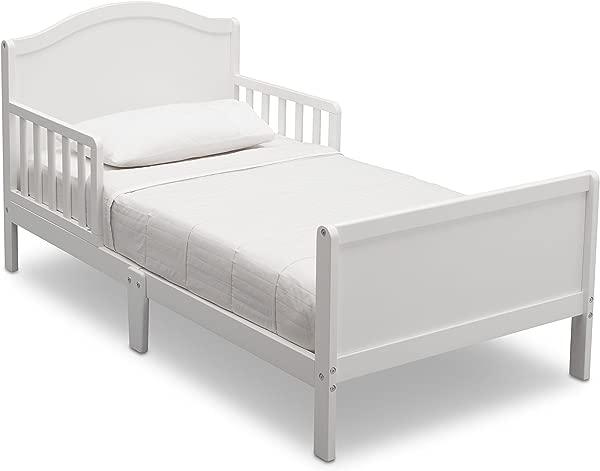Delta Children Bennett Toddler Bed Bianca White