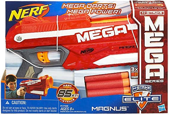 geprüft Pfeile z.B Top Zustand inkl für Weihnachten NERF Mega Magnus
