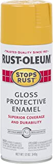 Rust-Oleum 298537 Stops Rust Spray Paint 12 Oz, Gloss Tuscan Sun