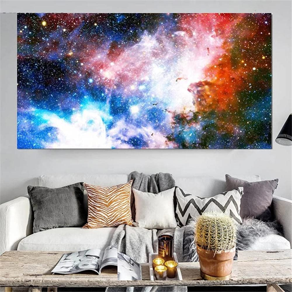 DIY Deluxe 5D Diamond Painting By Kits Emb Galaxy Some reservation Milky Number