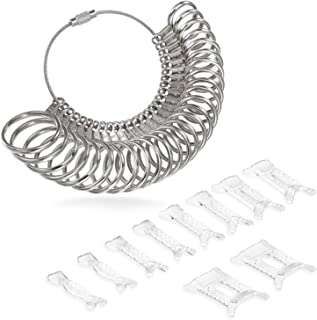 Ring Size Adjuster with Five Silver Polishing Cloths,3 Sizes Fit for Any Rings