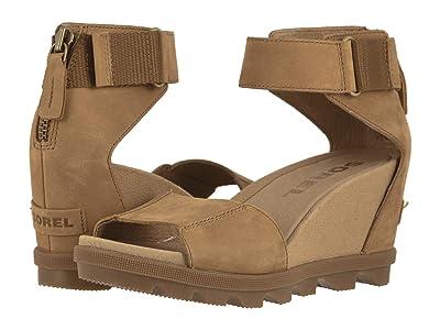 SOREL Joanietm II Ankle Strap (Camel Brown Full Grain Leather) Women